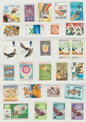 Thematic Stamps - Hands