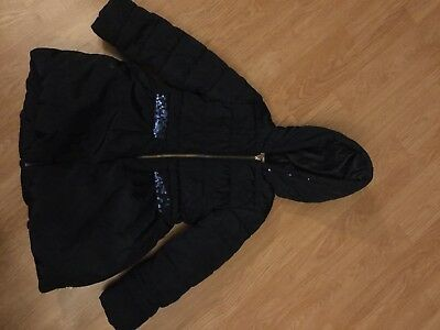 Billieblush  navy coat age 5