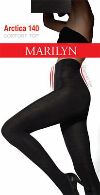 WARM TIGHTS ARCTICA 140 Den WOOL+ COTTON BLACK  M/3  L/4  XL/5  Comfortable Belt