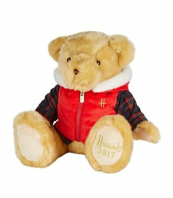 Harrods Limited Edition Large Annual Christmas Bear Bertie 2017 -  Luxury Gift