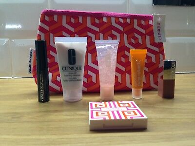 CLINIQUE BONUS TIME JONATHAN ADLER Gift Set with six beauty items. NEW