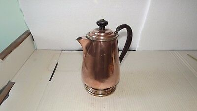 Antique Georgian copper tin lined coffee jug.C1830.