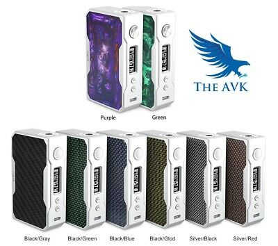Genuine VooPoo Drag 157w TC Box Mod RESIN COLOURS AVAILABLE NOW