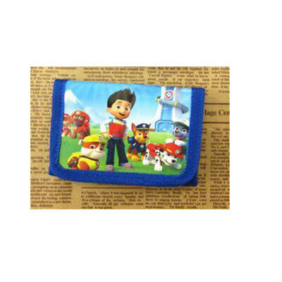 Paw Patrol Kids Coin Money Pouch Bags Purse Wallet Xmas Birthday gift a