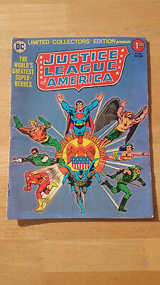 Justice League Of America #C-46 DC Limited Collectors's Edition (1976)
