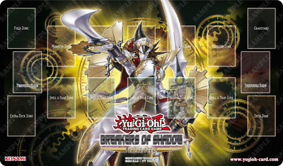 "Yugioh! Breakers of Shadow: ""Enlightenment Paladin"" Playmat"