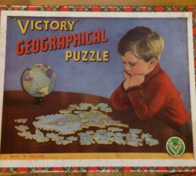 Victory Wooden Jigsaw USA 100 Pieces