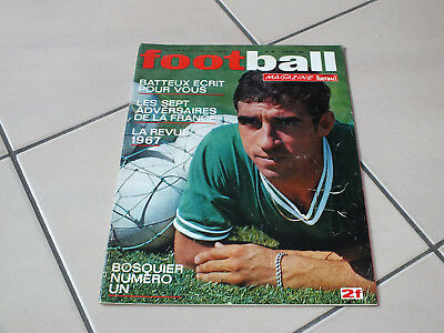 !! Revue foot FOOTBALL MAGAZINE N°96 JANVIER 1968 SPECIAL ASSE !!