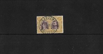 RHODESIA SG135, 3d WITH SUPERB 'GADZEMA' DOUBLE RING POSTMARK
