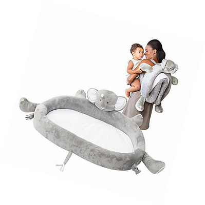 LulyZoo Baby Travel Bed - Elephant