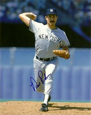 RICK RHODEN SIGNED NEW YORK YANKEES 8x10 PHOTO! w/PROOF