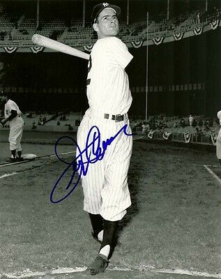 JERRY COLEMAN SIGNED NY NEW YORK YANKEES 8x10 PHOTO #1 Autograph
