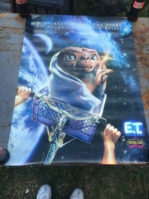 E.T. The Extra-Terrestrial Movie Poster (1991 Universal City Studios)