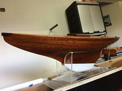 Antique Model Sailing Yacht