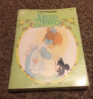 Precious Moments Lot Of 6 Vintage Coloring Books NIP