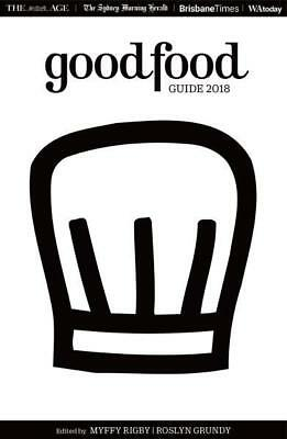 NEW The Good Food Guide 2018 By Myffy Rigby Paperback Free Shipping