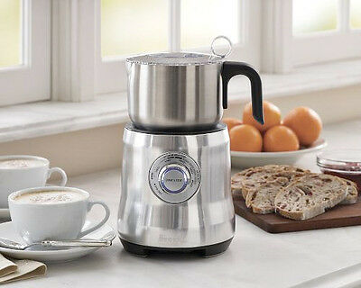 Pay$102!* [32% OFF] NEW FACTORY SECOND Breville The Milk Cafe - BMF600BSS BMF600