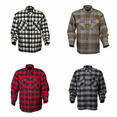Scorpion Mens Covert Moto Lined Motorcycle Flannel Shirt - Size & Color