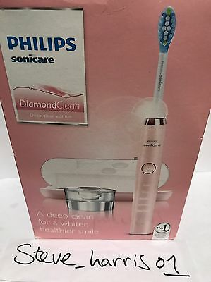 PHILIPS SONICARE DIAMOND CLEAN PINK HX9361/62 Rechargeable Electric TOOTHBRUSH