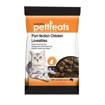 Purr-fection Australian Chicken Lovables Semi-Moist Cat Treats - 80g
