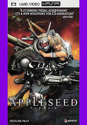Appleseed UMD MOVIE for your PSP Playstation