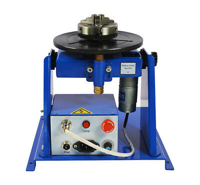 Upgraded New 10KG 110V Welding Positioner Turntable with 80mm Chuck USA Seller