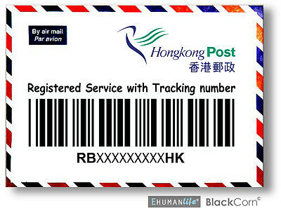 Hong Kong Post Registered Fee with Tracking Number for Safer Delivery (US_E)