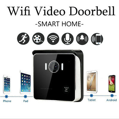 Wireless Smart Door Bell Video Door Phone Intercom Camera Waterproof IR Security