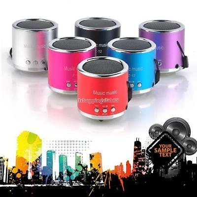 Mini Portable Super Bass Stereo Speakers for iPhone 4 5Samsung MP3 USB