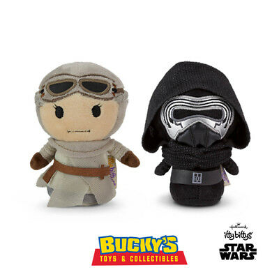 Rey & Kylo Ren Hallmark itty bittys Disney Star Wars The Force Awakens Last Jedi