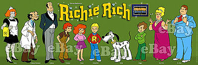 NEW! EXTRA LARGE! RICHIE RICH Panoramic Photo Print HANNA BARBERA Harvey Comics