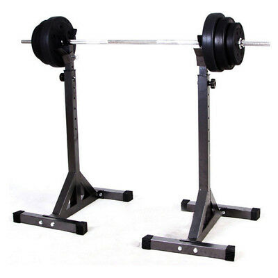 85*55*13 cm Adjustable Fitness Squat Stand HD Deadlift Lift Weight Rack  New.