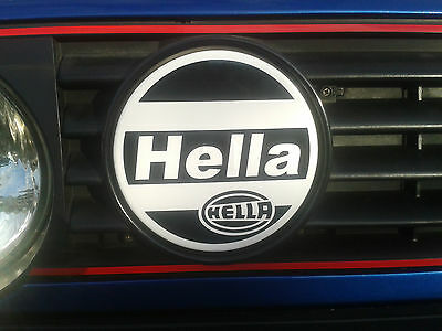 Hella Light Cover Decals / Sticker - VW Mk2 Golf 16v 8v G60 GTI Spot Light Cover