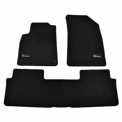 4 Tapis Sol Citroen C5 Berline Break 03/2001-02/2008 Moquette Sur Mesure Logo C5