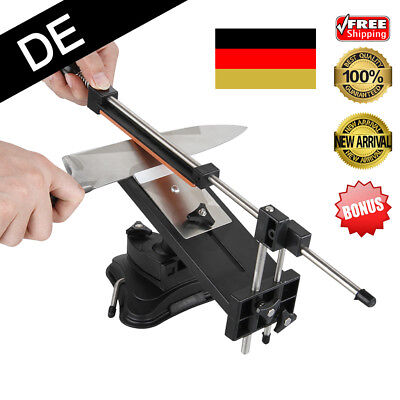 Küche Messerschleifer Profi Messerschärfer Fixed-Winkel mit 4 Schleifstein & Bag
