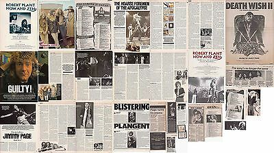 LED ZEPPELIN : CUTTINGS COLLECTION -1980s-