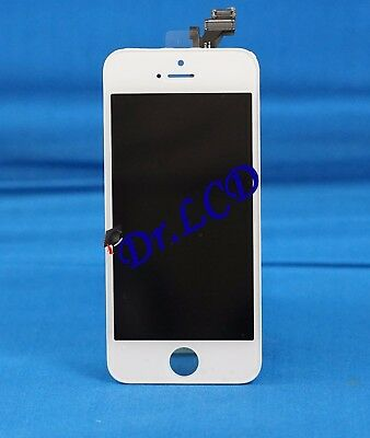 LCD Touch Screen Display Digitizer Assembly Replacement for iPhone 5 white Tools
