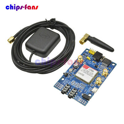 SIM808 Module GSM GPRS GPS Development Board SMA W/ GPS Antenna for Arduino