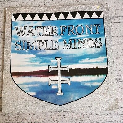 "Simple Minds Waterfront 12"" single"