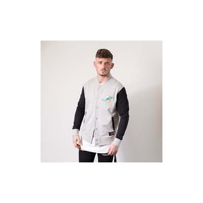 f1f2c828156 MAJESTIC ATHLETIC NFL Miami Dolphins Fleece Letterman - £24.99 ...