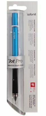 New Jot Pro Fine Point Precision Tip Stylus Adonit for iPad iOS Android - Blue