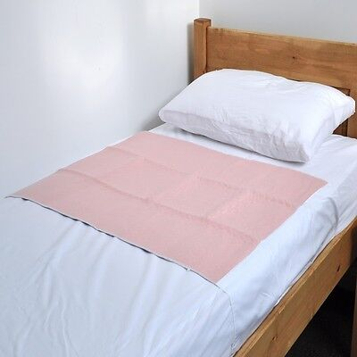 """Comfortcare 75 x 90cms,29½"""" x 35½"""", 3 Ltr with Wings Washable Reusable Bed Pad"""