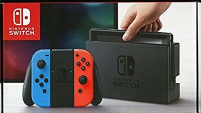 nintendo switch neon rot neon blau joy controller bundle. Black Bedroom Furniture Sets. Home Design Ideas