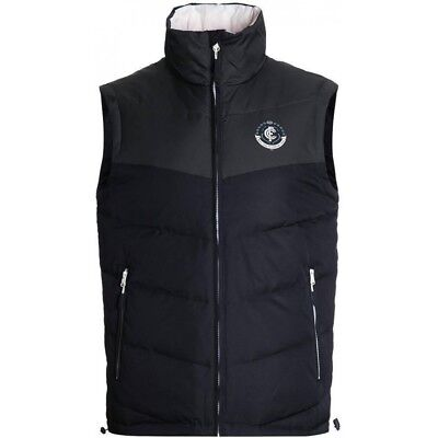 Carlton Blues 2017 AFL Mens Down Vest BNWT Footy Clothing