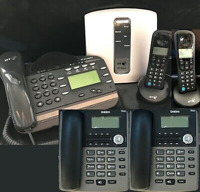 2 Line BT VOX SMALL HOME TELEPHONE SYSTEM + 5 Phones