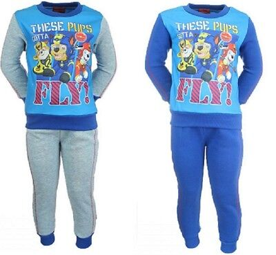 Boys Girls Kids Paw Patrol Tracksuit Jogging Jog suit Outfit Set New age 2-6yrs