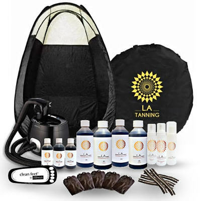 HVLP ProV Spray Tanning Kit/ Pack, Machine, Tan, Tent &More! SHOULD BE £574.00!