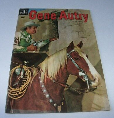 Gene Autry Comics #97 Mid-Upper Grade Golden Age Western 1955 Dell Comic Book