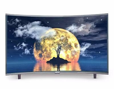 "Tv Led 65"" Ultra Hd 4K Curvo Akai Ctv654Ts - Dvbt2/s2 - Usb Hdmi Classe A+ Scart"