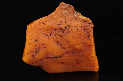 ANTIQUE Vintage Butterscotch Genuine BALTIC AMBER Stone 26.7g s140623-12